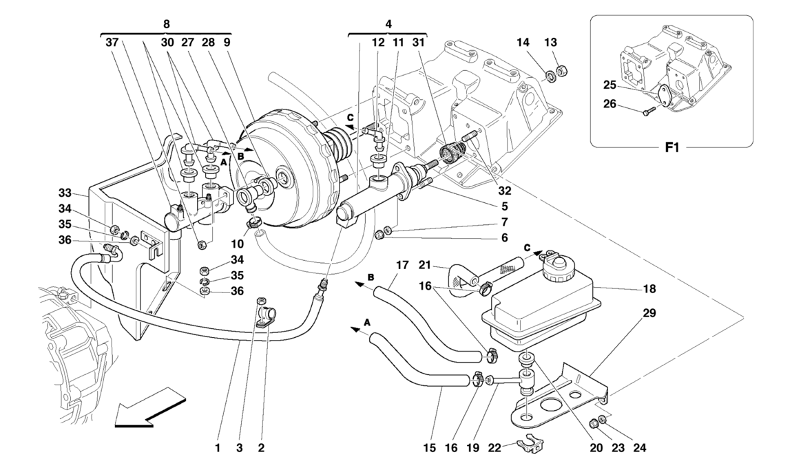 BRAKE AND CLUTCH HYDRAULIC SYSTEM