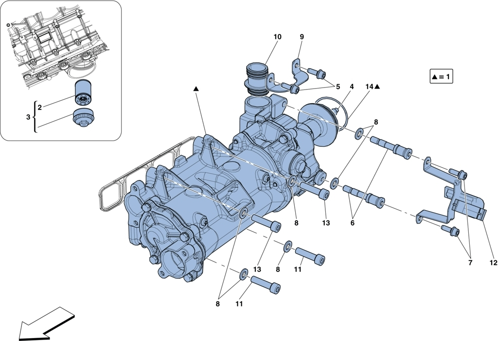 COOLING – OIL PUMP AND OIL FILTER