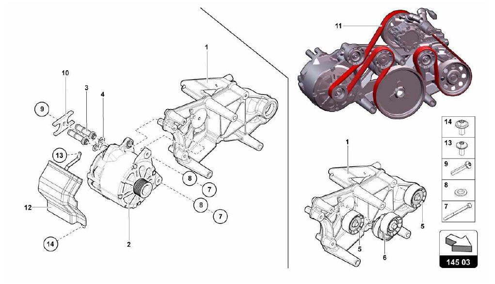 145.03.00-HEAD TIMING SYSTEM - ALTERNATOR