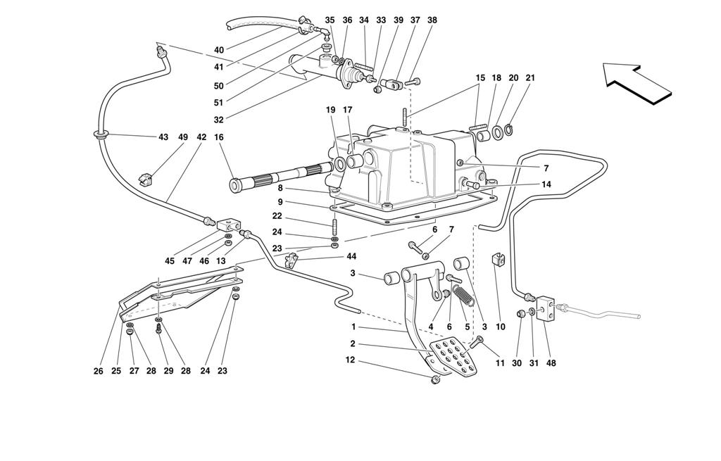 CLUTCH RELEASE CONTROL -NOT FOR RHD