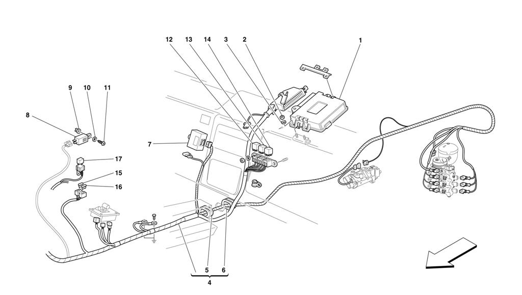 ELECTRONIC GEARBOX CONTROL -VALID FOR 355 F1 CARS-
