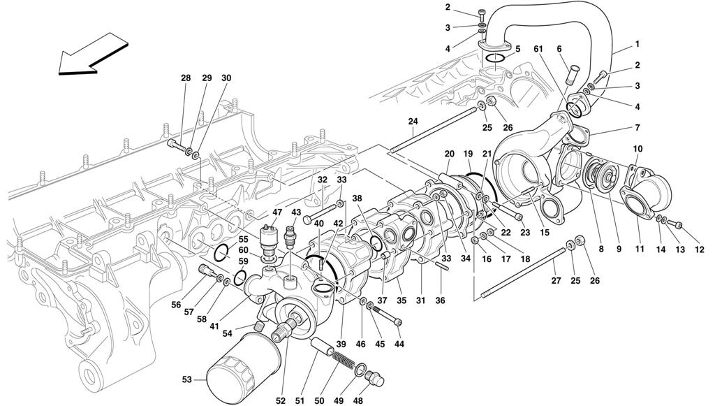 OIL/WATER PUMP - BODY AND ACCESSORIES
