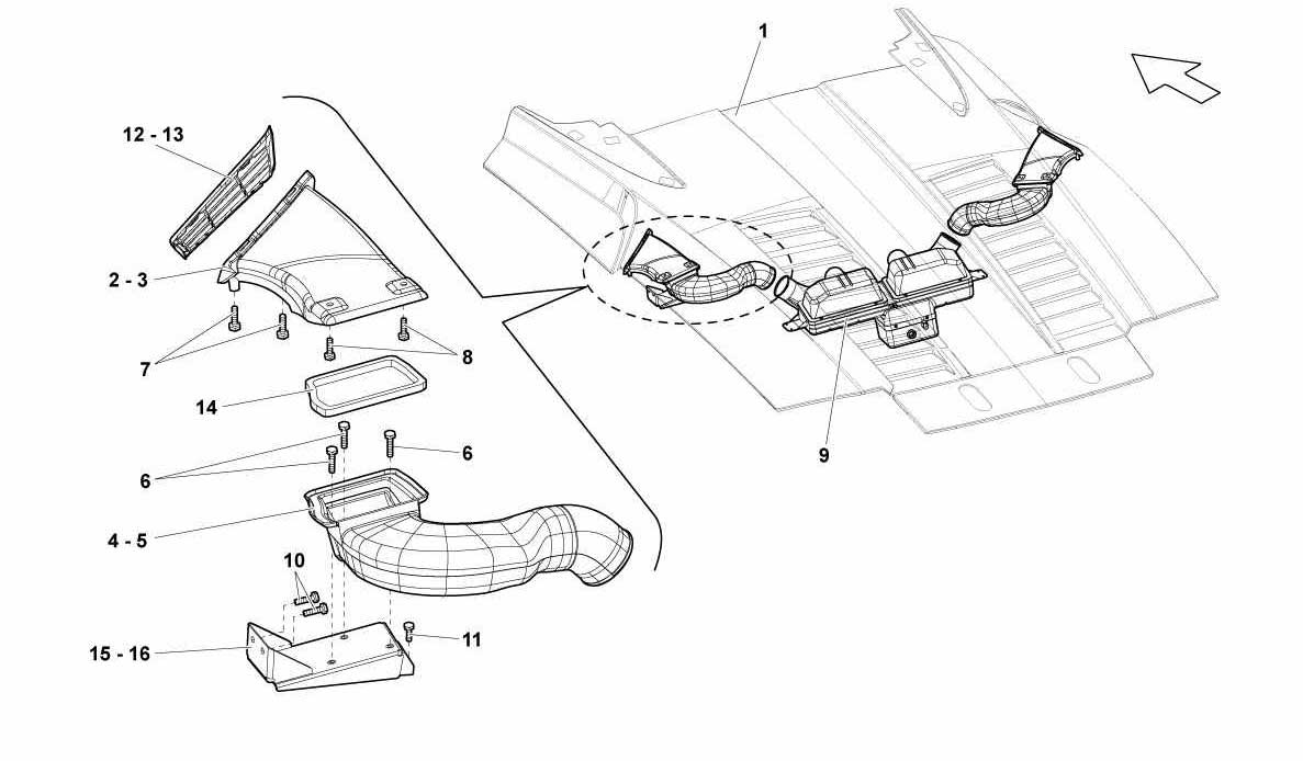 Lamborghini Gallardo Engine Diagram Electrical Wiring Diagrams Bmw Z4 Spyder Air Conveyor Ricambi America Inc
