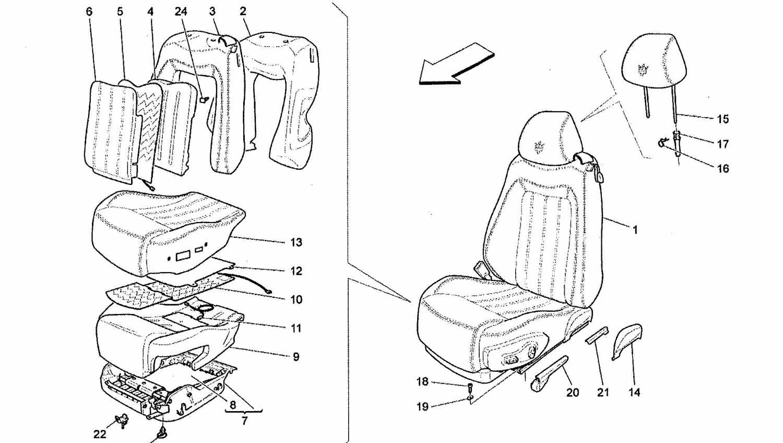 FRONT SEAT TRIM PANELS