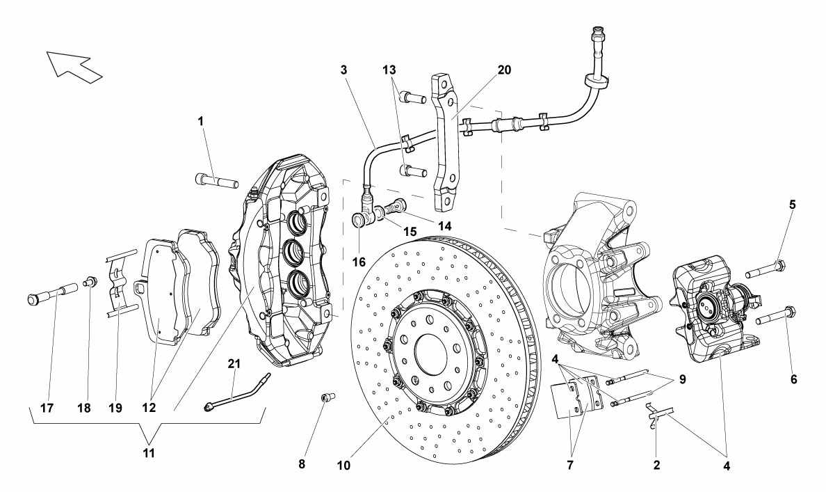 REAR BRAKES - CARBOCERAMIC