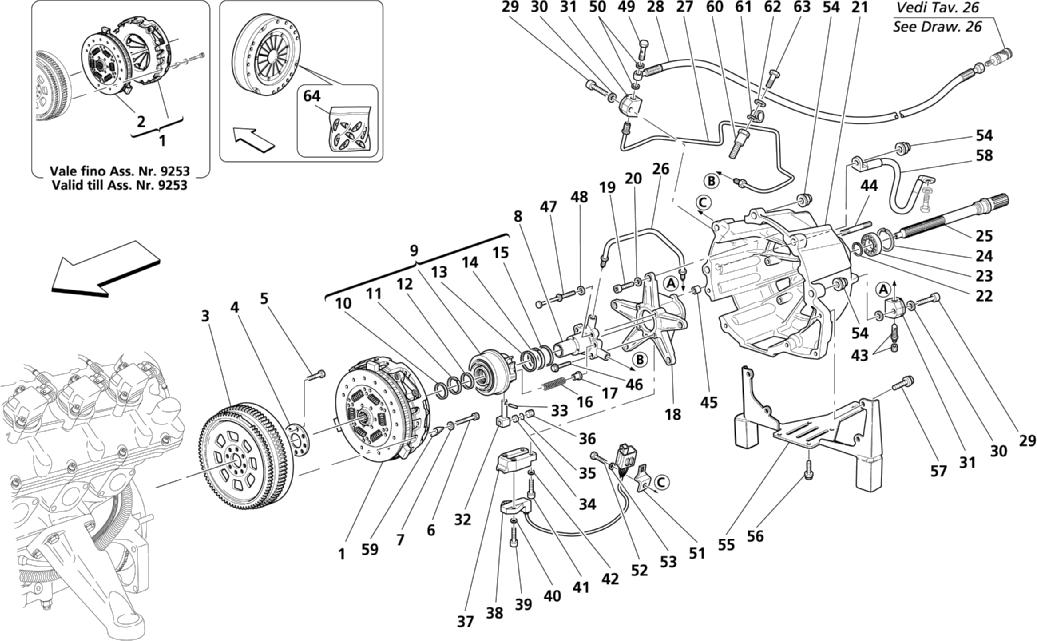 CLUTCH AND CONTROLS -VALID FOR F1
