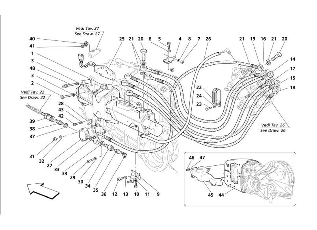 F1 CLUTCH HYDRAULIC CONTROLS