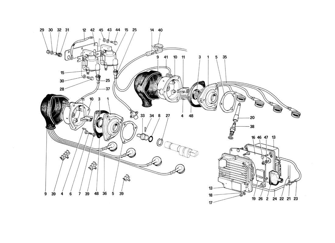 ENGINE IGNITION - (CABRIOLET)