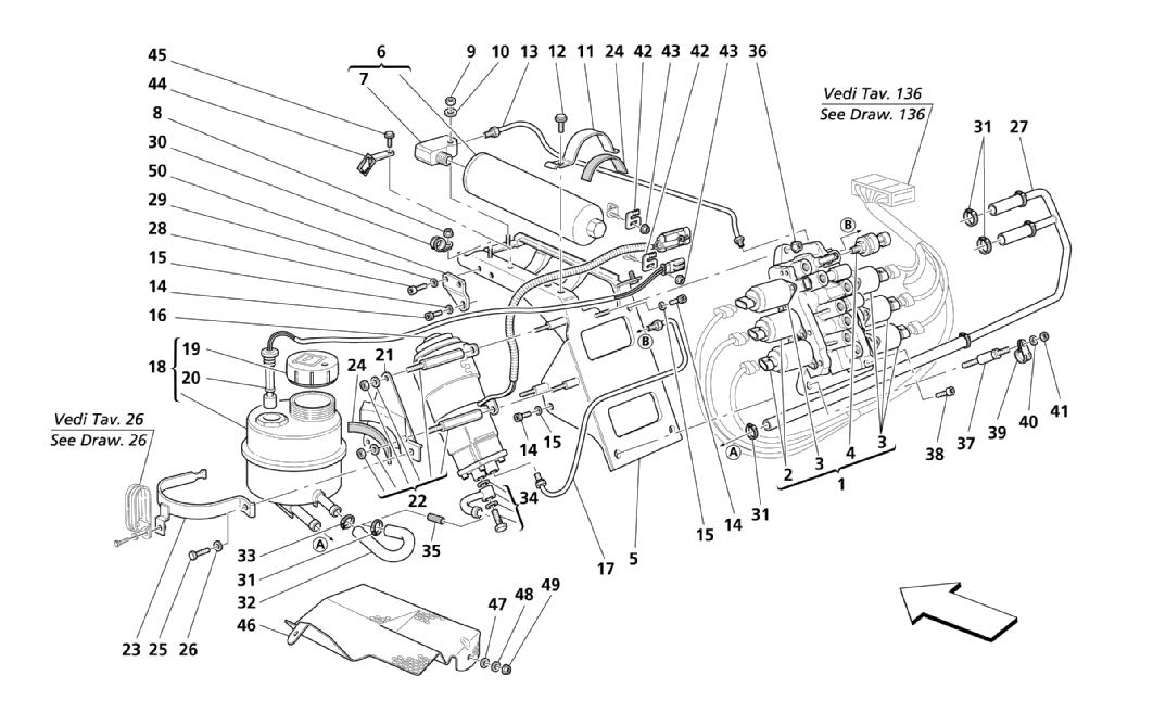 POWER UNIT AND TANK -VALID FOR F1