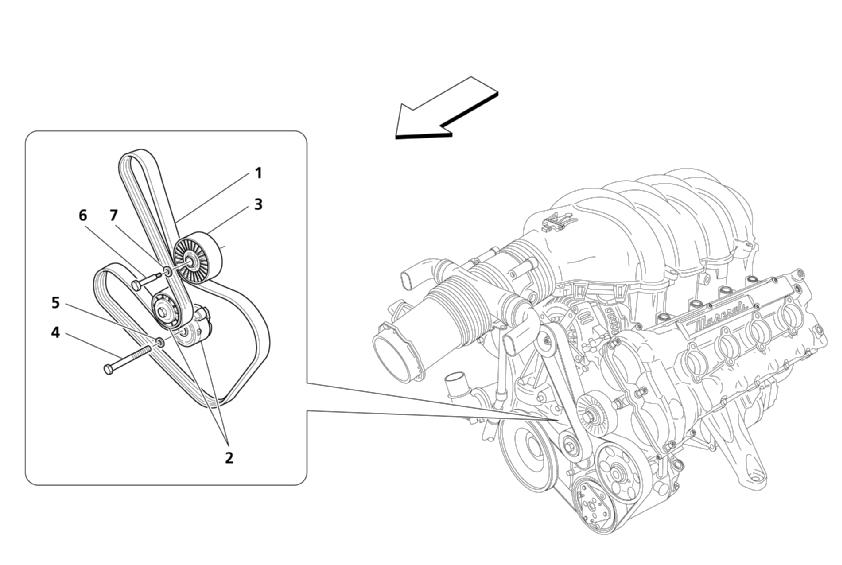 BELTS AUXILIARY PARTS