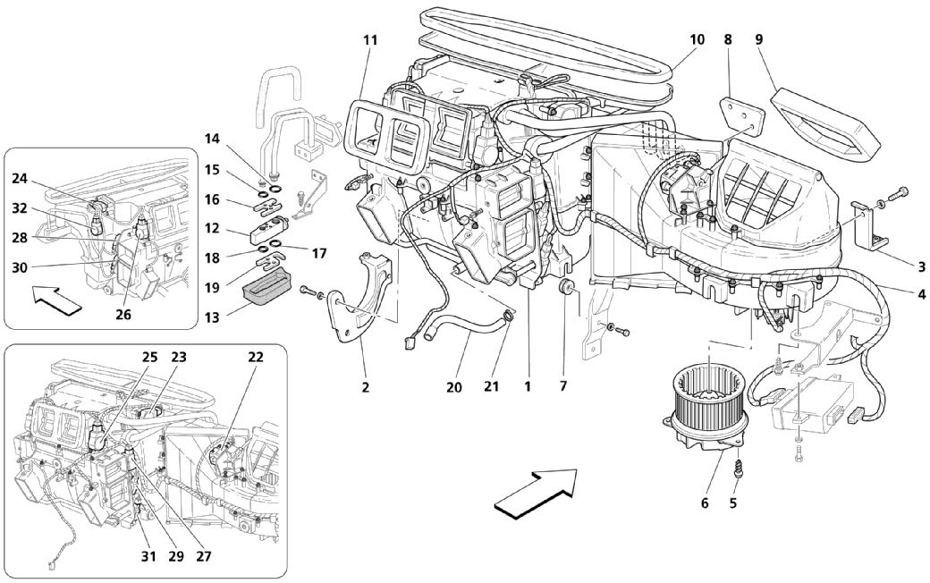 A.C. GROUP: DASHBOARD PARTS