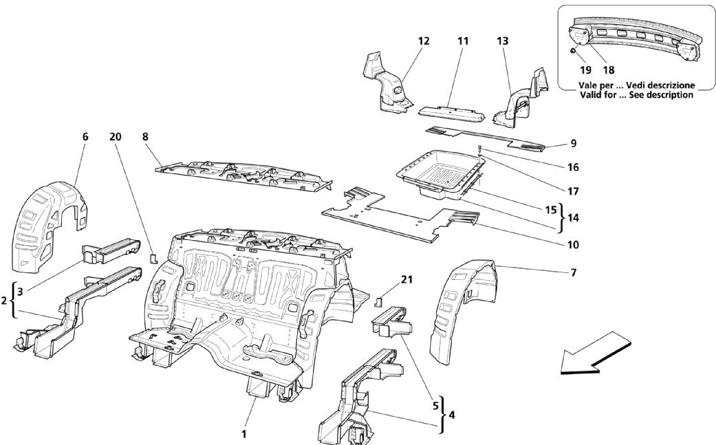 REAR STRUCTURAL PARTS