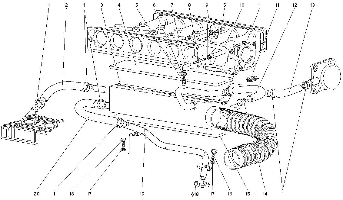 ENGINE OIL BREATHING SYSTEM