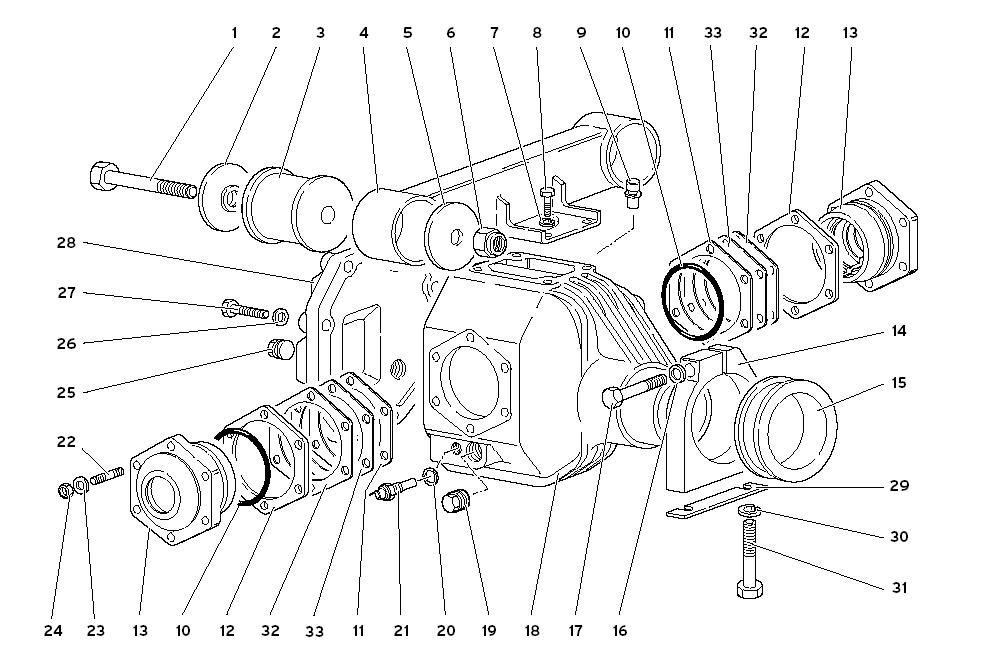 FRONT DIFFERENTIAL CASE