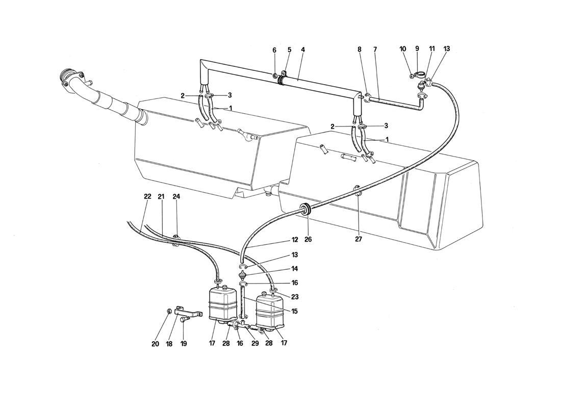 ANTI-EVAPORATIVE EMISSION CONTROL SYSTEM (FOR U.S. AND SA)