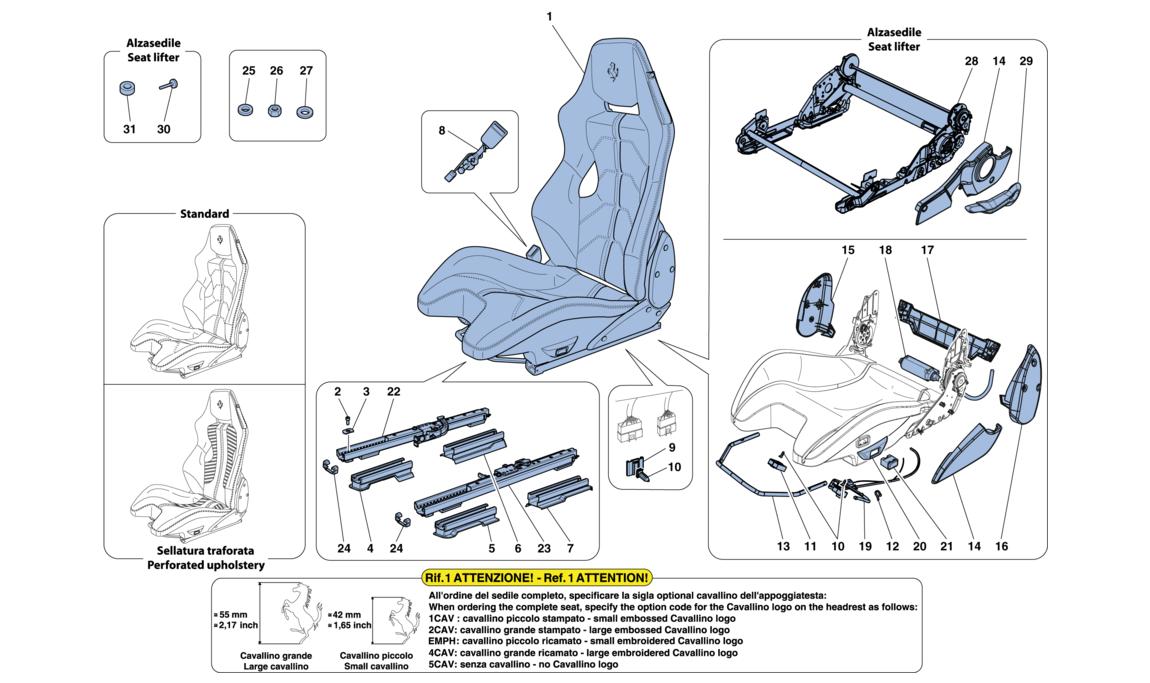 Racing Seat F12 Gt Group 2 Seat V12 Ferrari Car Diagrams