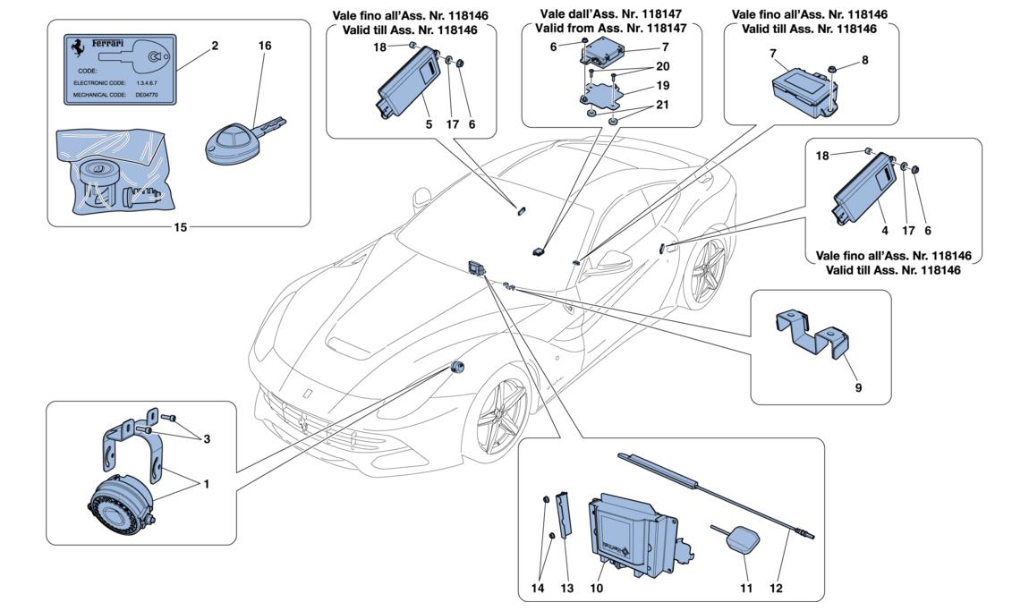 Antitheft System: Ferrari Superamerica Power Seat Wiring Diagram At Submiturlfor.com