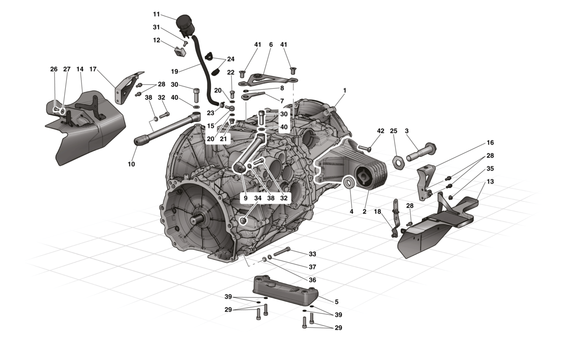 COMPLETE GEARBOX