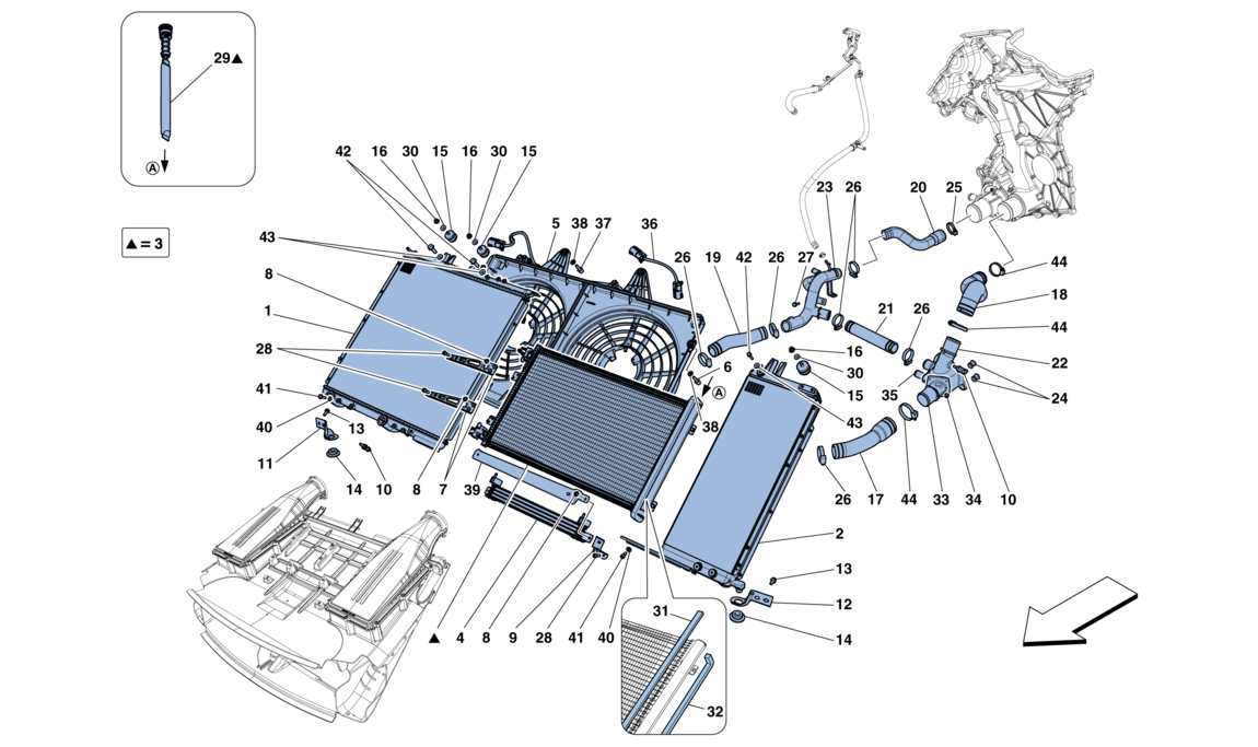 Cooling Radiators And Air Ducts: Ferrari Superamerica Power Seat Wiring Diagram At Submiturlfor.com