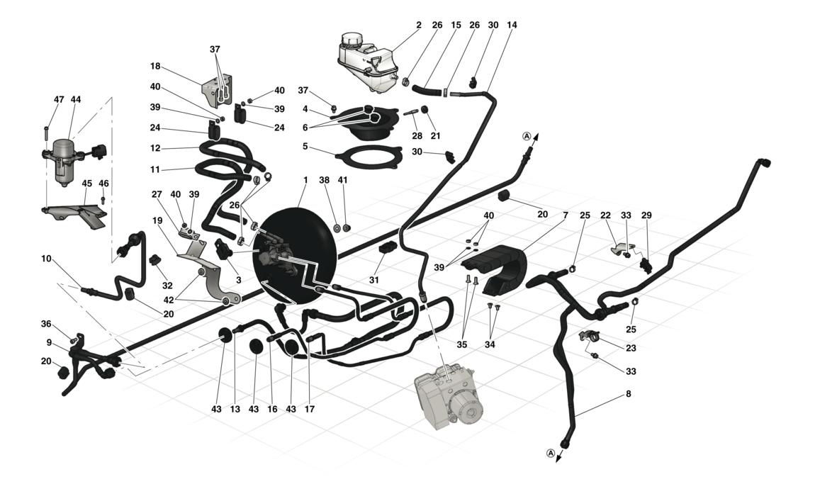 HYDRAULIC BRAKE CONTROLS AND POWER BRAKE SYSTEM