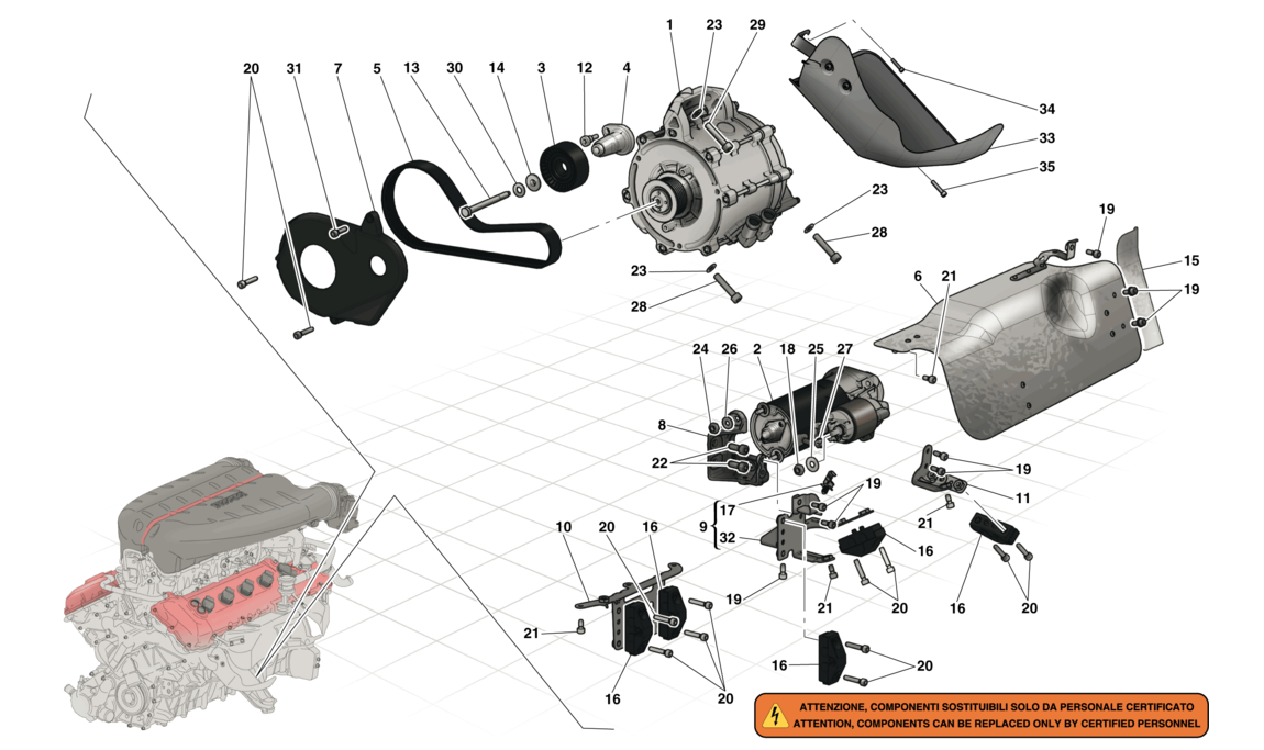 STARTER MOTOR AND ELECTRIC MOTOR 2